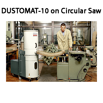 ESTA DUSTOMAT-10 Mobile Dust Extractor