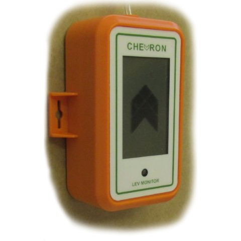 Chevron Digital Air Flow Indicator