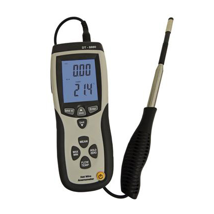 Hot Wire Thermo-Anemometer - USB Logging