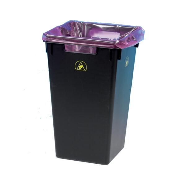 ESD Conductive Waste Bin
