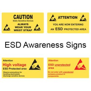 ESD Awareness Signs