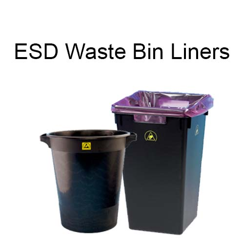 Replacement ESD Conductive Waste Bin Liners