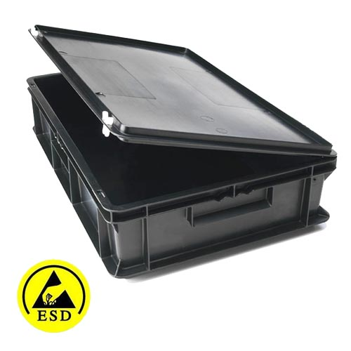 ESD Conductive Containers