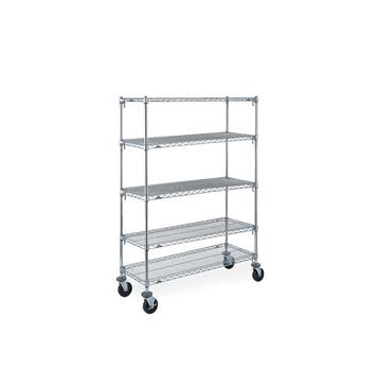 ESD Chrome Racks and Trolleys