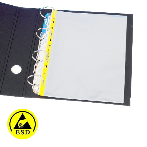ESD Safe Document Wallets