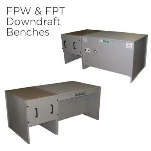 AirBench FPW and FPT Welding and Grinding Downdraft Benches