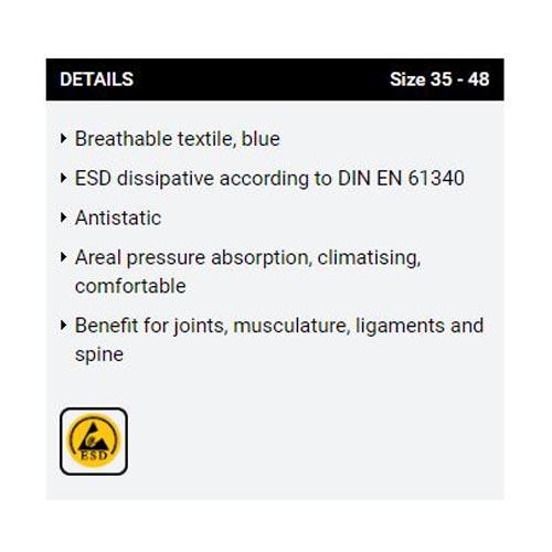 ESD Insole 3557