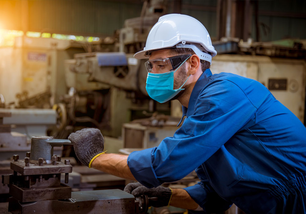 Industry working operating machine