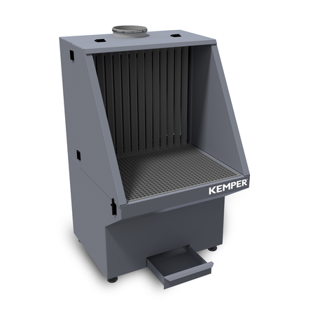 Kemper grinding table closed