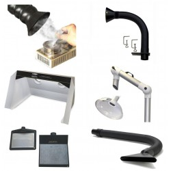 Flexible Extraction Arms and Accessories